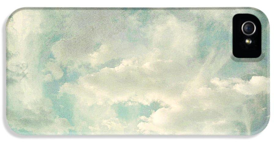 Brett IPhone 5 Case featuring the digital art Cloud Series 1 Of 6 by Brett Pfister