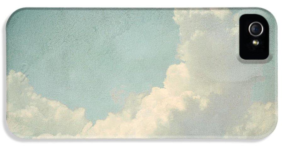 Brett IPhone 5 Case featuring the digital art Cloud Series 4 Of 6 by Brett Pfister