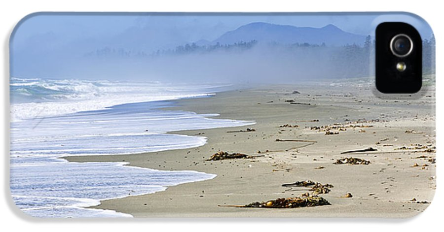 Pacific IPhone 5 Case featuring the photograph Coast Of Pacific Ocean In Canada by Elena Elisseeva