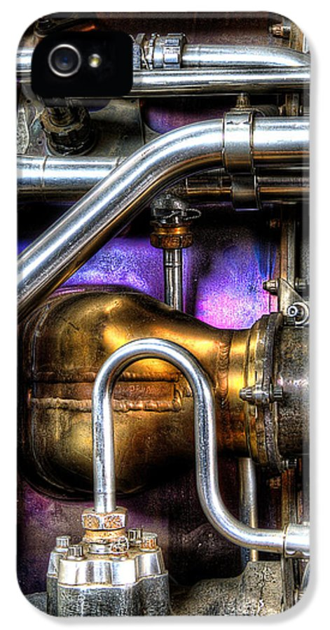 Concord IPhone 5 Case featuring the photograph Concord Engine Hdr by SteveHPhotos