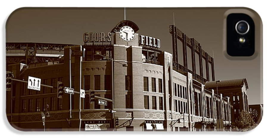 America IPhone 5 Case featuring the photograph Coors Field - Colorado Rockies 17 by Frank Romeo