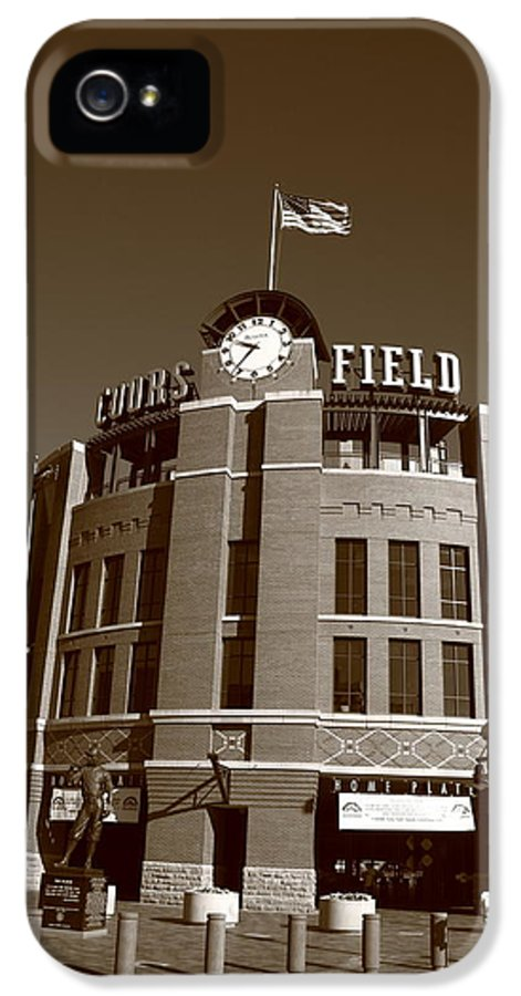 America IPhone 5 Case featuring the photograph Coors Field - Colorado Rockies 18 by Frank Romeo