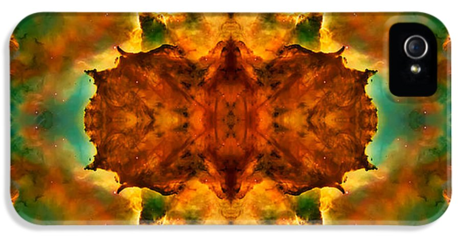 Universe IPhone 5 Case featuring the photograph Cosmic Kaleidoscope 2 by Jennifer Rondinelli Reilly - Fine Art Photography