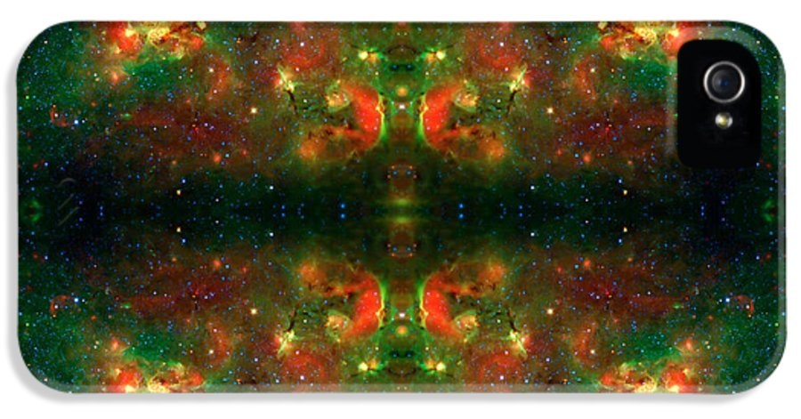 Universe IPhone 5 Case featuring the photograph Cosmic Kaleidoscope 3 by Jennifer Rondinelli Reilly - Fine Art Photography