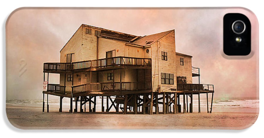 Topsail IPhone 5 Case featuring the photograph Cottage Of The Past by Betsy Knapp