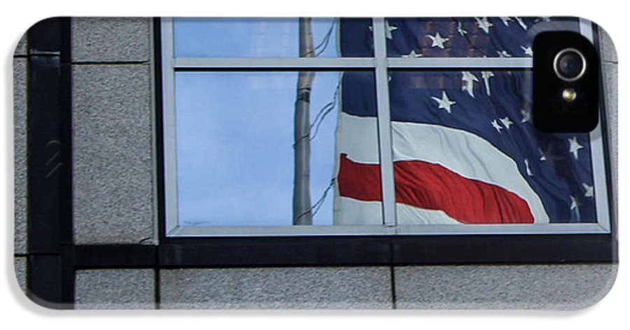 American Flag IPhone 5 Case featuring the photograph Counting Stars by Rene Triay Photography