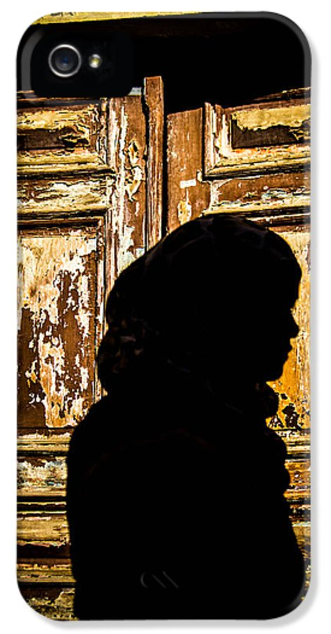 Jordan IPhone 5 Case featuring the photograph Covered Silhouette by Joshua Van Lare
