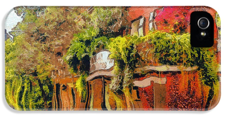 Alley IPhone 5 Case featuring the photograph Crazy Whimsy Wacky New Orleans by Christine Till