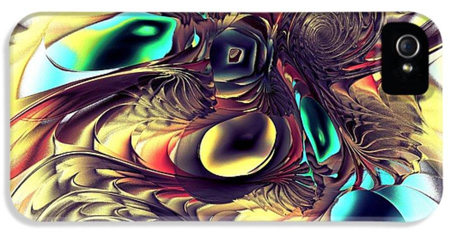 Malakhova IPhone 5 Case featuring the digital art Creature by Anastasiya Malakhova
