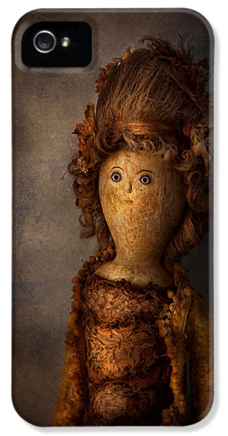 Halloween IPhone 5 / 5s Case featuring the photograph Creepy - Doll - Matilda by Mike Savad