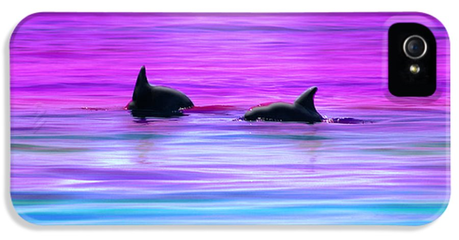 Seascapes IPhone 5 Case featuring the photograph Cruisin' Together by Holly Kempe