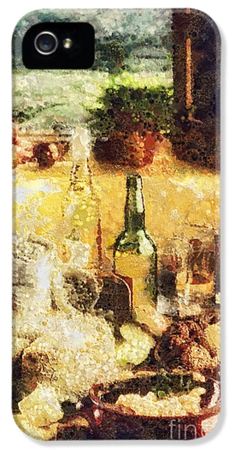 Cuisine IPhone 5 Case featuring the painting Cuisine by Mo T