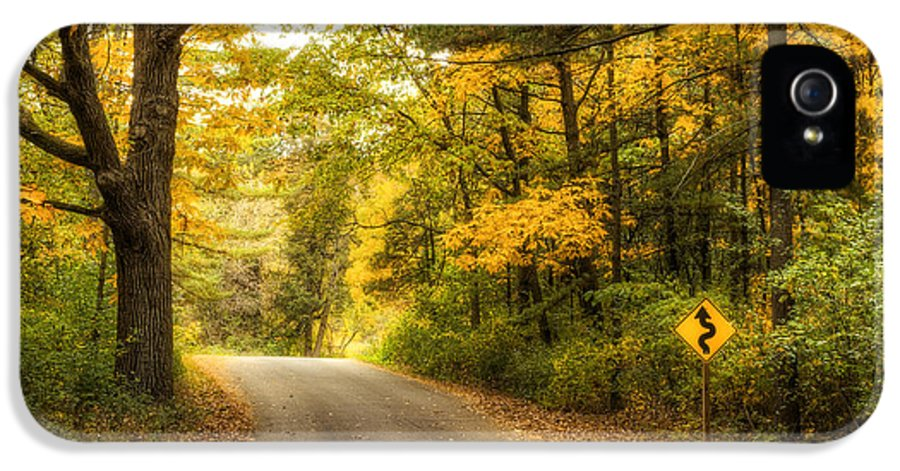Autumn IPhone 5 Case featuring the photograph Curves Ahead by Scott Norris