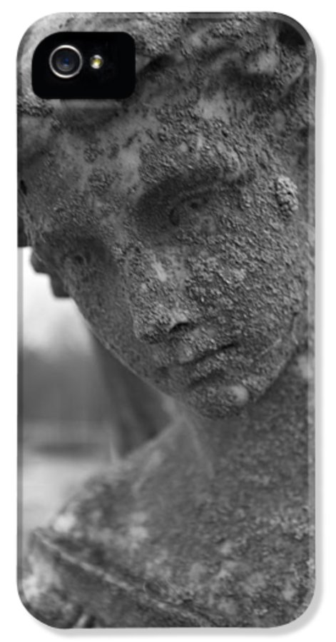 Dark IPhone 5 Case featuring the photograph Dark Lady by Allan Morrison