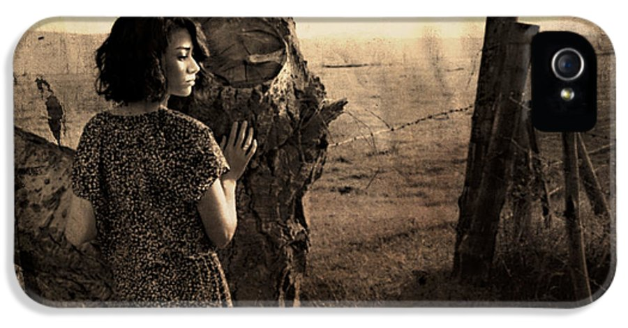 Retro IPhone 5 Case featuring the photograph Dear Norma by Theresa Tahara