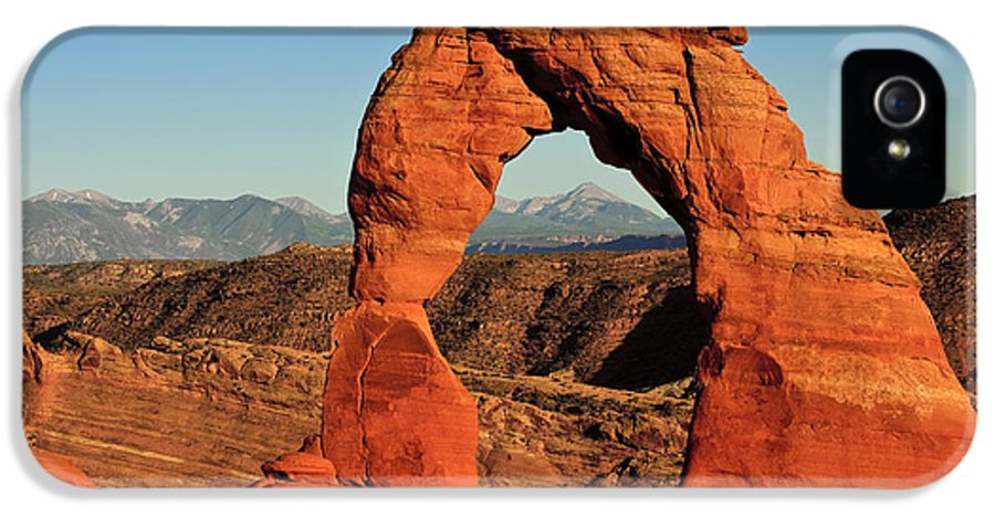 Delicate Arch IPhone 5 Case featuring the photograph Delicate Arch by Karma Boyer