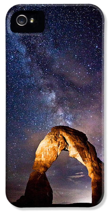 Arches IPhone 5 Case featuring the photograph Delicate Light by Darren White