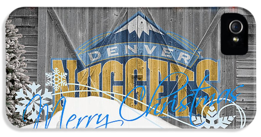 Nuggets IPhone 5 Case featuring the photograph Denver Nuggets by Joe Hamilton