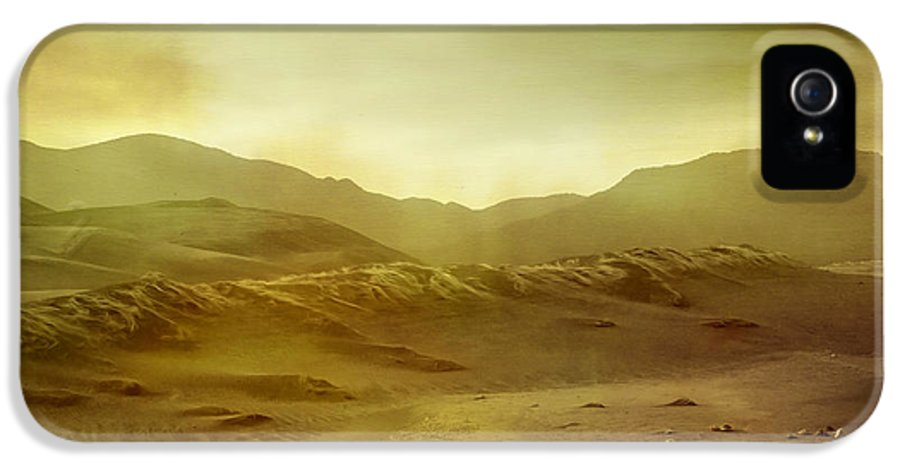 Brett IPhone 5 Case featuring the digital art Desert by Brett Pfister