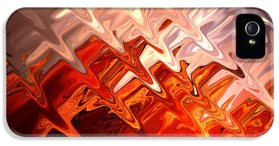 Abstract IPhone 5 Case featuring the photograph Desert Light by Aidan Moran