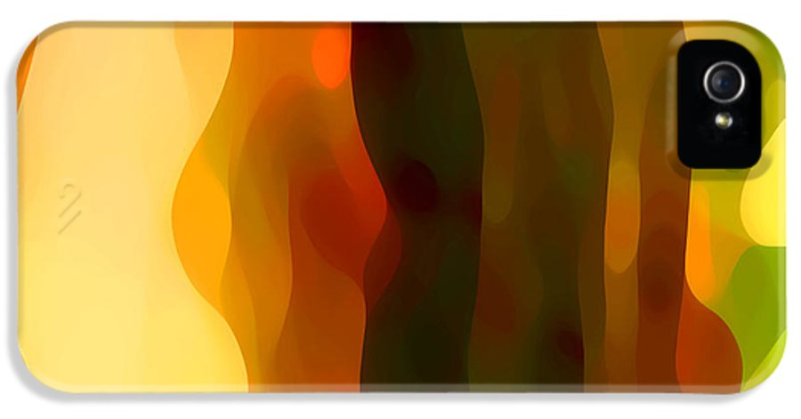 Bold IPhone 5 Case featuring the painting Desert Pattern 1 by Amy Vangsgard