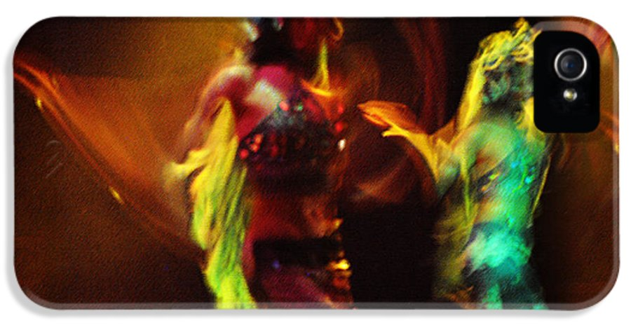 Dance IPhone 5 / 5s Case featuring the photograph Diabolic. Passionate Dance Of The Night Angels by Jenny Rainbow
