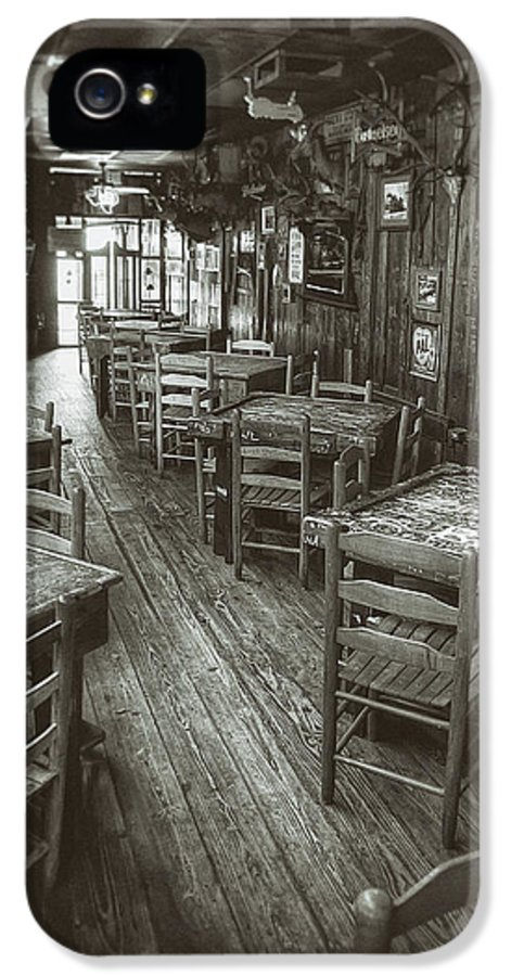 Dixie Chicken IPhone 5 Case featuring the photograph Dixie Chicken Interior by Scott Norris