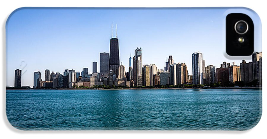 America IPhone 5 Case featuring the photograph Downtown City Buildings In The Chicago Skyline by Paul Velgos