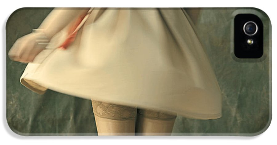 Around IPhone 5 Case featuring the photograph Dress Twirl by Craig B