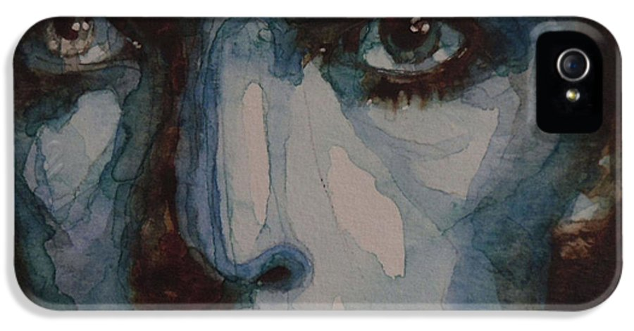 David Bowie IPhone 5 Case featuring the painting Drive In Saturday by Paul Lovering