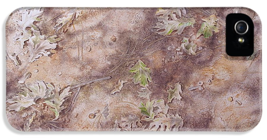Early Fall IPhone 5 Case featuring the mixed media Early Fall by Michele Myers