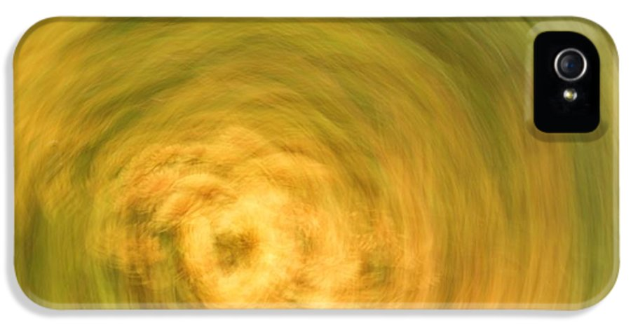 Digital Art IPhone 5 Case featuring the pastel Earthly Whirlpool by Imani Morales