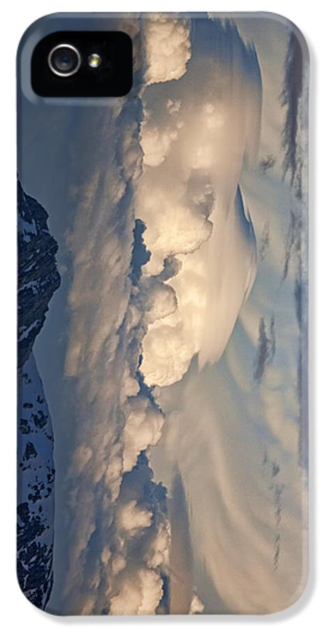 Colorado IPhone 5 Case featuring the photograph Eastern Storm At Sunset - Phone Case by Gregory Scott