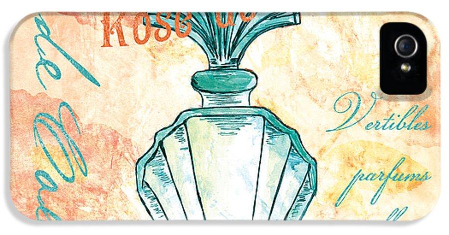 Perfume IPhone 5 Case featuring the painting Eau De Cologne by Debbie DeWitt