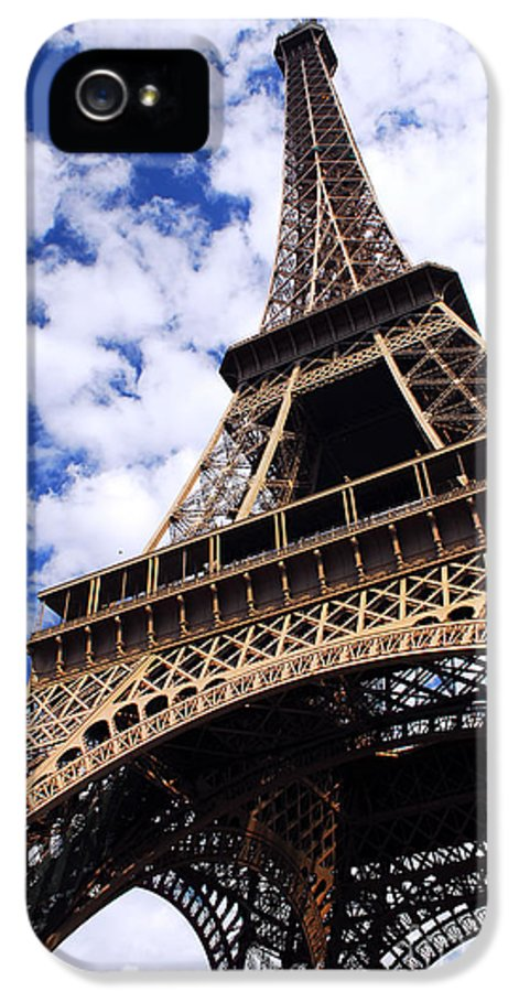 Eiffel IPhone 5 Case featuring the photograph Eiffel Tower by Elena Elisseeva
