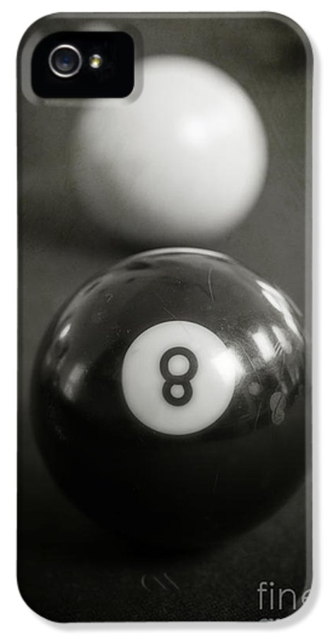 Ball IPhone 5 Case featuring the photograph Eight Ball by Edward Fielding
