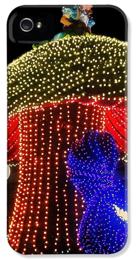 Disney IPhone 5 Case featuring the photograph Electrical Wonderland by Benjamin Yeager