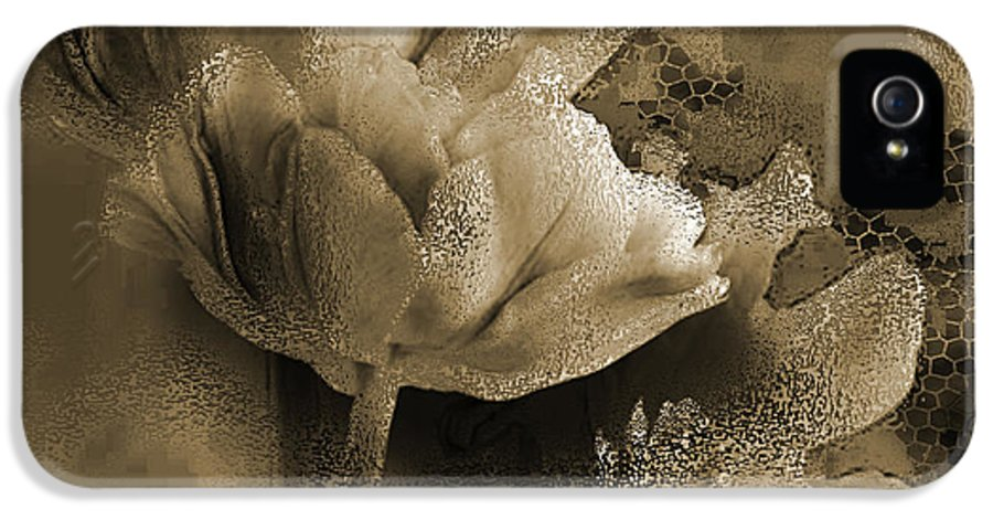 IPhone 5 Case featuring the mixed media Elegance by Yanni Theodorou