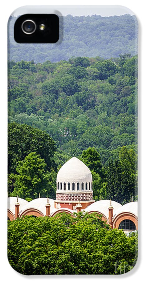 America IPhone 5 Case featuring the photograph Elephant House At Cincinnati Zoo And Botanical Garden by Paul Velgos