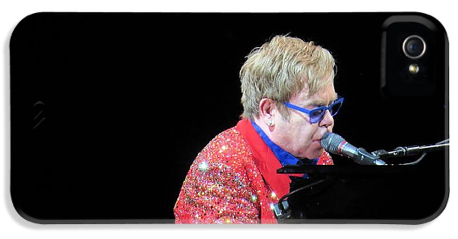 Singer IPhone 5 Case featuring the photograph Elton by Aaron Martens
