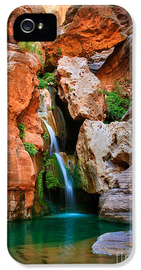 America IPhone 5 Case featuring the photograph Elves Chasm by Inge Johnsson