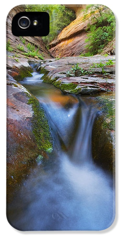 West Fork Oak Creek Canyon IPhone 5 Case featuring the photograph Energy by Peter Coskun