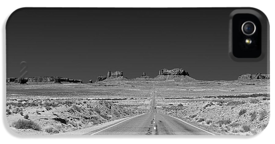 Monument IPhone 5 Case featuring the photograph Epic Monument Valley by Christine Till