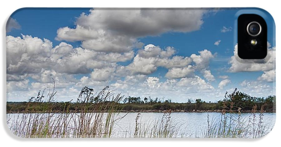 Everglades IPhone 5 Case featuring the photograph Everglades Lake 6853 by Rudy Umans