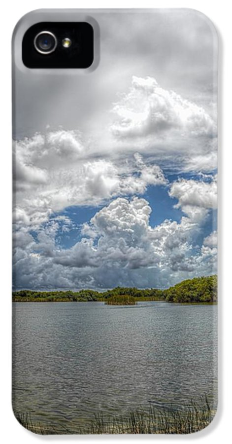 Everglades IPhone 5 Case featuring the photograph Everglades Lake 6919 by Rudy Umans