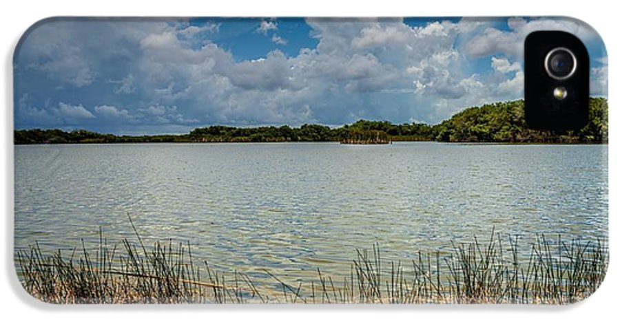 Everglades IPhone 5 Case featuring the photograph Everglades Lake 6930 by Rudy Umans