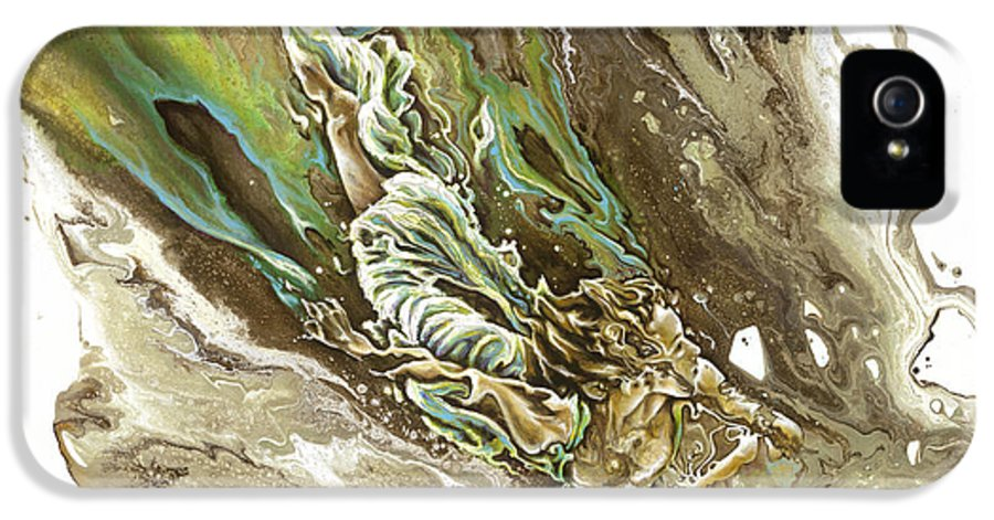 Explore IPhone 5 Case featuring the painting Explore by Karina Llergo