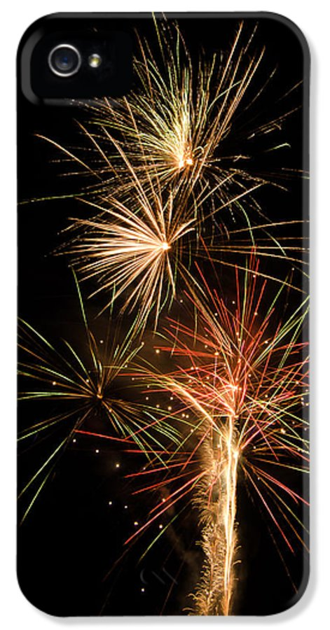 Fireworks IPhone 5 Case featuring the photograph Explosion by Shirley Tinkham