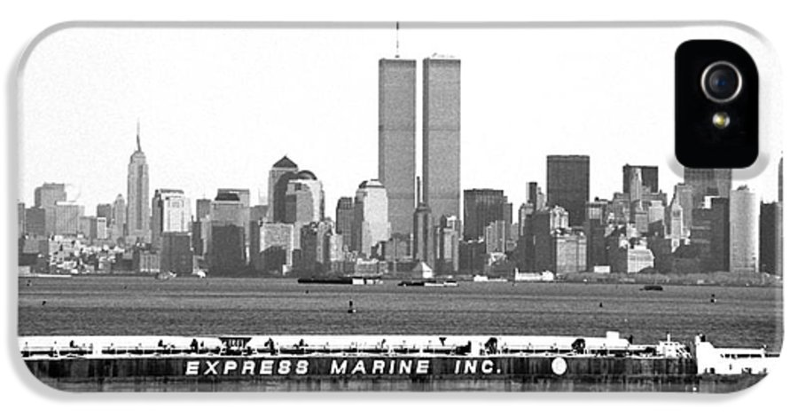 Express Marine Inc. 1990s IPhone 5 Case featuring the photograph Express Marine Inc. 1990s by John Rizzuto