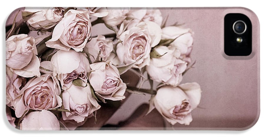 Rose IPhone 5 Case featuring the photograph Fade Away by Priska Wettstein